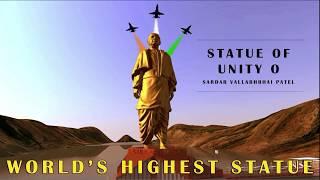 World Biggest Statue | Sardar Vallabhbhai Patel Statue | Statue of Unity in Tamil