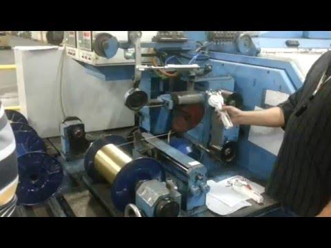 Автоматическое регулирование натяжения при намоте металлокорда после модернизации