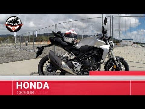2018 Honda CB300R || Review & Testdrive (ESTREIA MUNDIAL)