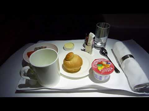 Emirates A380 Business Class From Bangkok To Dubai.