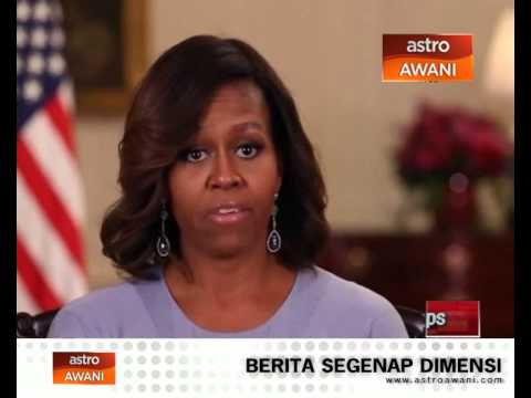 Michelle kecam penculikan di Nigeria