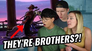 """Non-Overwatch Players React to Overwatch Animated Short   """"Dragons"""" (G-Mineo Reacts)"""