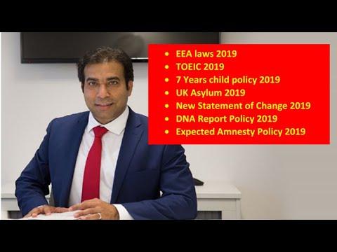 Latest UK Immigration updates January 2019
