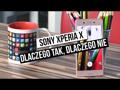 Sony Xperia X - szybki test: dlaczego tak, dlaczego nie?