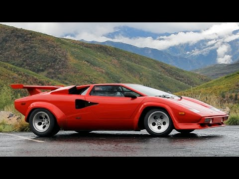 Lamborghini Countach Review Driving The Icon Exotic Driver Youtube
