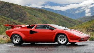 Lamborghini Countach Review - Driving the Icon - Exotic Driver