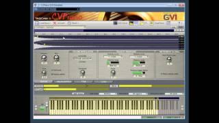 CV Piano GVI Modeled by Tascam