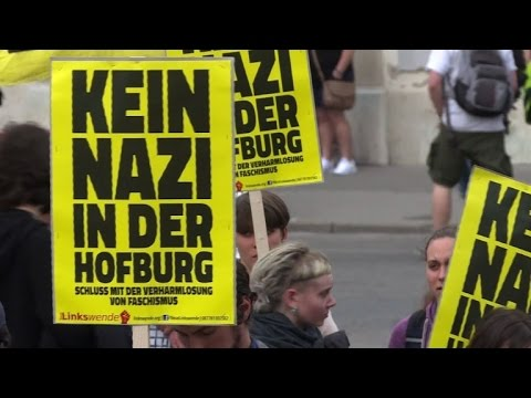Anti far-right protest in Vienna ahead of Austrian elections