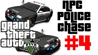 GTA 5 - Dog Edition - NPC Random Police Dispatch Chase #4