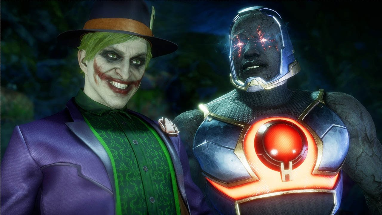 Mortal Kombat 11 Joker Vs Darkseid Gameplay Mk11 1440p 60ᶠᵖˢ Youtube