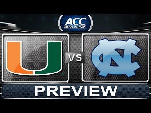 Preview | Miami Vs North Carolina | ACCDigitalNetwork