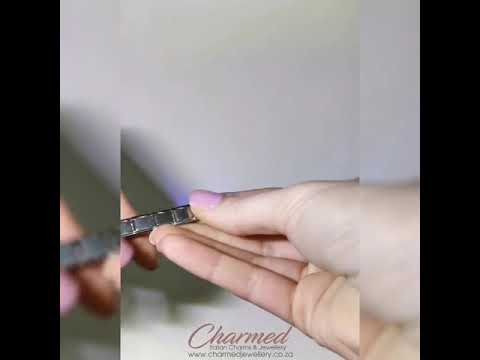 Adding And Removing Links From Italian Charm Bracelet