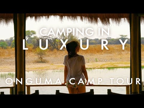 OUR LUXURY SAFARI CAMP | Onguma, Namibia 4x4 Roadtrip