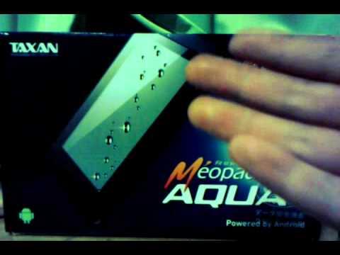 MeoPad Aquaを使ってみた感想