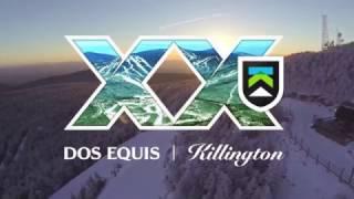 Killington Dos Equis Ski Report #1 Jax Food & Games