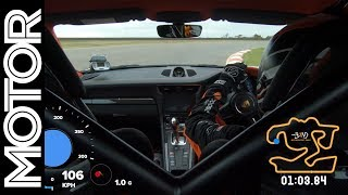 2018 Porsche 911 GT2 RS on-board lap record - The Bend Motorsport Park | MOTOR