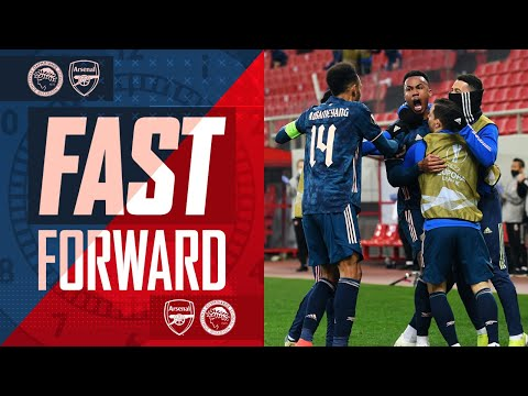 FAST FORWARD | All the goals, drama, tweets, reactions & more to Arsenal vs Olympiacos