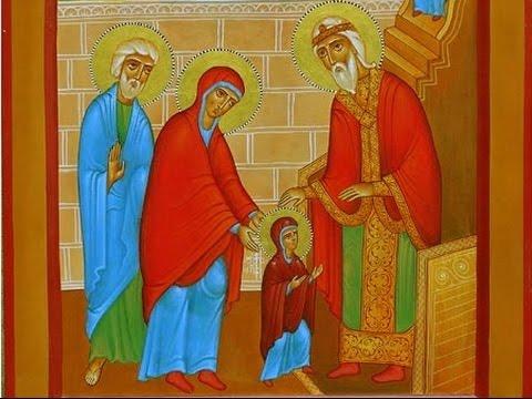 """ღვთისმშობლის ტაძრად მიყვანება - ,,ყოვლადწმინდა კიდობანი"""" - YouTube"""
