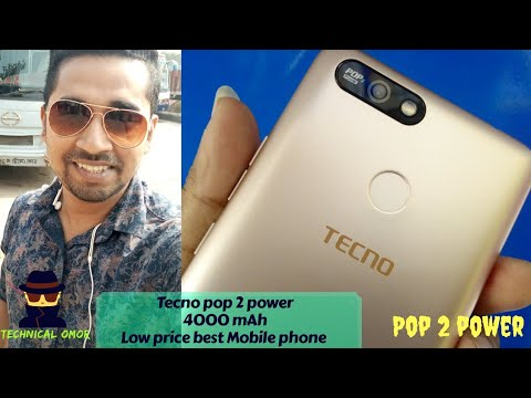 Pop 2 power Tecno mobile Best price Better mobile 📱 Bangla Review 🔥 Tecno  pop 2 power ⛮