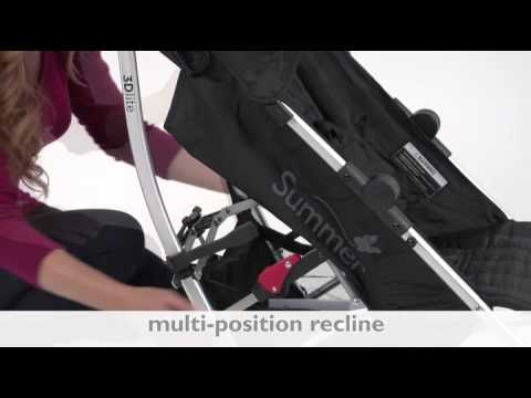 Summer Infant 3d Lite Convenience Stroller Review Youtube