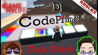Roblox - Game Dev Life - Sneaking into the Club.