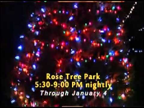 Rose Tree Park Festival of Lights 2013 - Rose Tree Park Festival Of Lights 2013 - YouTube