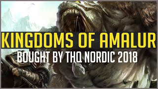 Kingdoms Of Amalur Reckoning | A New Comeback? THQ Nordic Buys IP 2018! Everything You Need To Know!