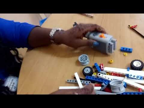 LEGO - WALKER - SIMPLE POWERED MACHINES instructions