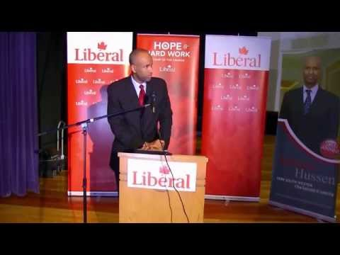 Ahmed Hussen's win in the York South-Weston Liberal Nomination contest