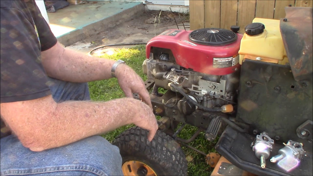 surging problem with B & S engine on Craftsman riding mower