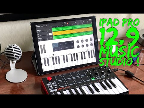 "New iPad Pro 12.9"" Portable Music Studio"