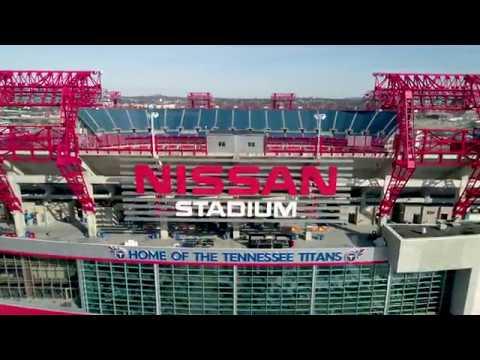Nissan Stadium Drone Tour