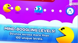 PAC MAN Bounce New Game 3D Android İos Free Game GAMEPLAY VİDEO