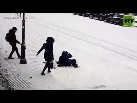 It's the thought that counts: 2 people attempt to lend a helping hand