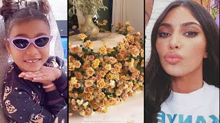 Watch North West THROW SHADE at Kim Kardashian