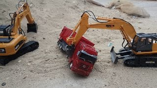 [Unboxing] RC Excavator HUINA TOYS NO.1510 | Creative Channel