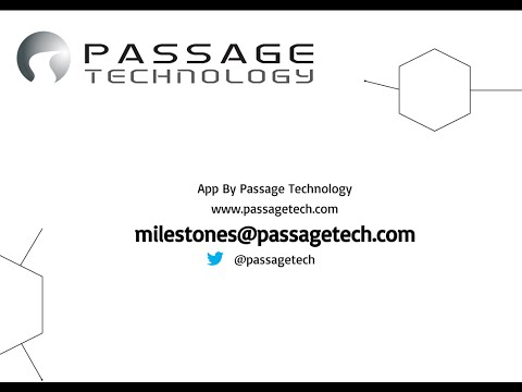 Milestones PM+ Demo Video