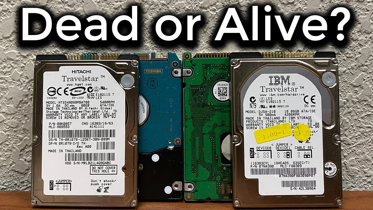 Testing Some Laptop Hard Drives! - Do They Work?