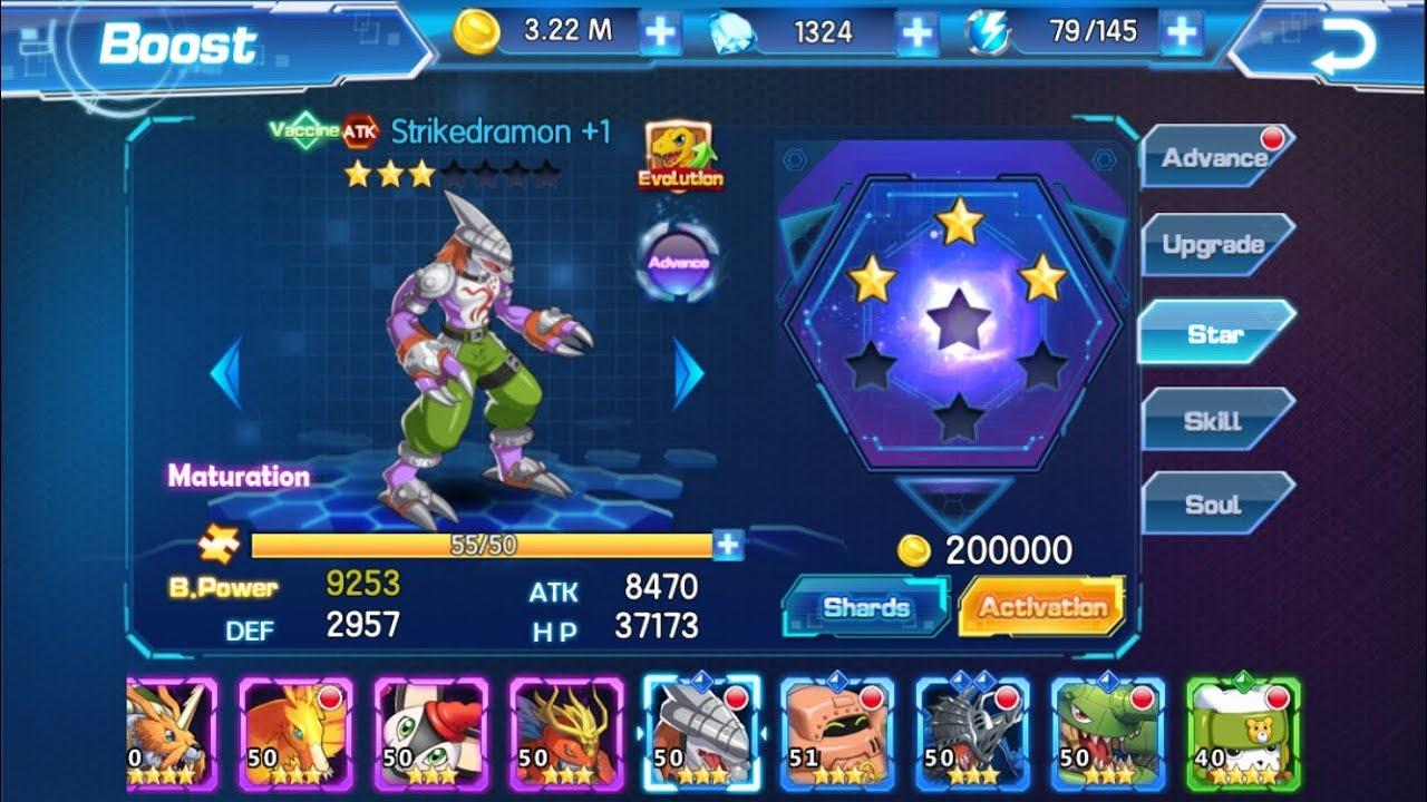 DIGIVOLVING STRIKEDRAMON TO CYBERDRAMON - Digimon: Digital World Adventure - YouTube