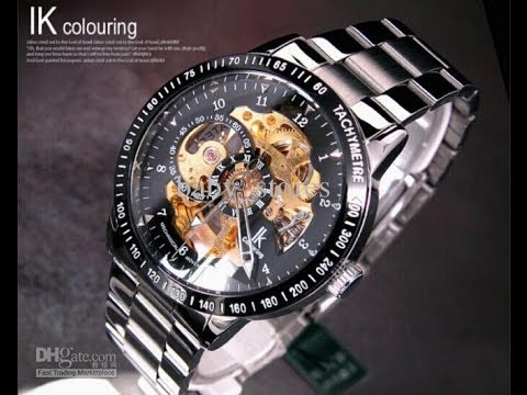 $18,- IK Colouring Mechanical Watch (Automatic self-winding) from Banggood