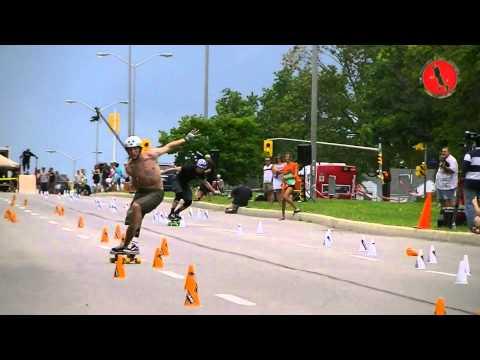 World Championships of Slalom Skateboarding Ottawa