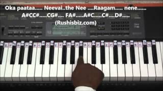 Paruvam Vanaga Piano Tutorials - Roja (Telugu) | 7013658813 - PDF NOTES/BOOK - WHATS APP US