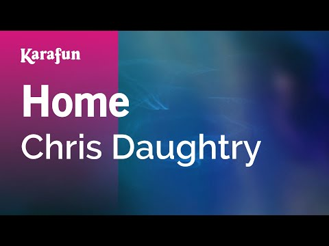Karaoke Home  Chris Daughtry *
