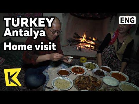 【K】Turkey Travel-Antalya[터키 여행-안탈리아]가정집 방문/Home/Visit/Home meal/Cahi/Tea/Custom