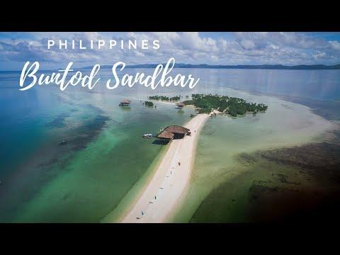 Masbate Philippines - Buntod Marine Sanctuary Sandbar