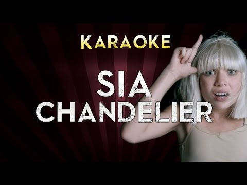 Sia - Chandelier | Lower Key 2 (Ab) Karaoke Instrumental Lyrics Cover Sing Along