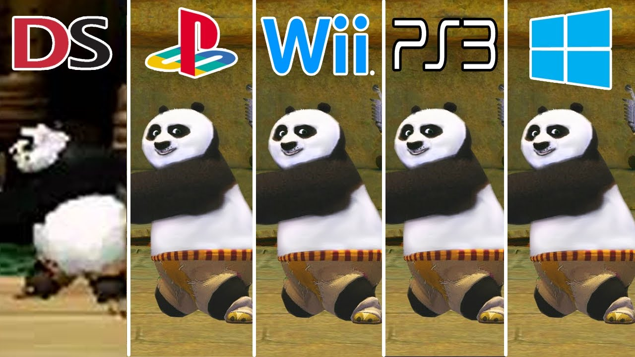 Download Kung Fu Panda (2008) Nintendo DS vs PS2 vs Wii vs PS3 vs PC (Which One is Better!)