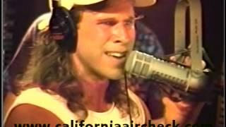 WBBM-FM B-96 Chicago George McFly 1991 California Aircheck Video