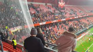Incident Fin de Match Valenciennes-Lens