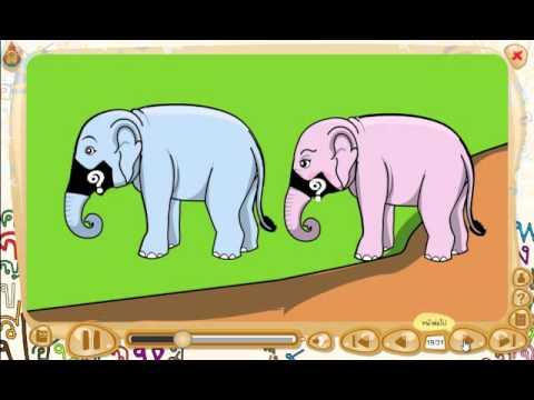 สื่อการเรียนรู้วิชาภาษาไทย ชั้น ป.1 เรื่อง ใบโบกใบบัว